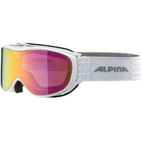 Alpina Challenge 2.0 Multimirror S2 Lunettes de protection, white pink